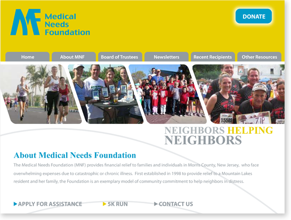 Client: Medical Needs Foundation